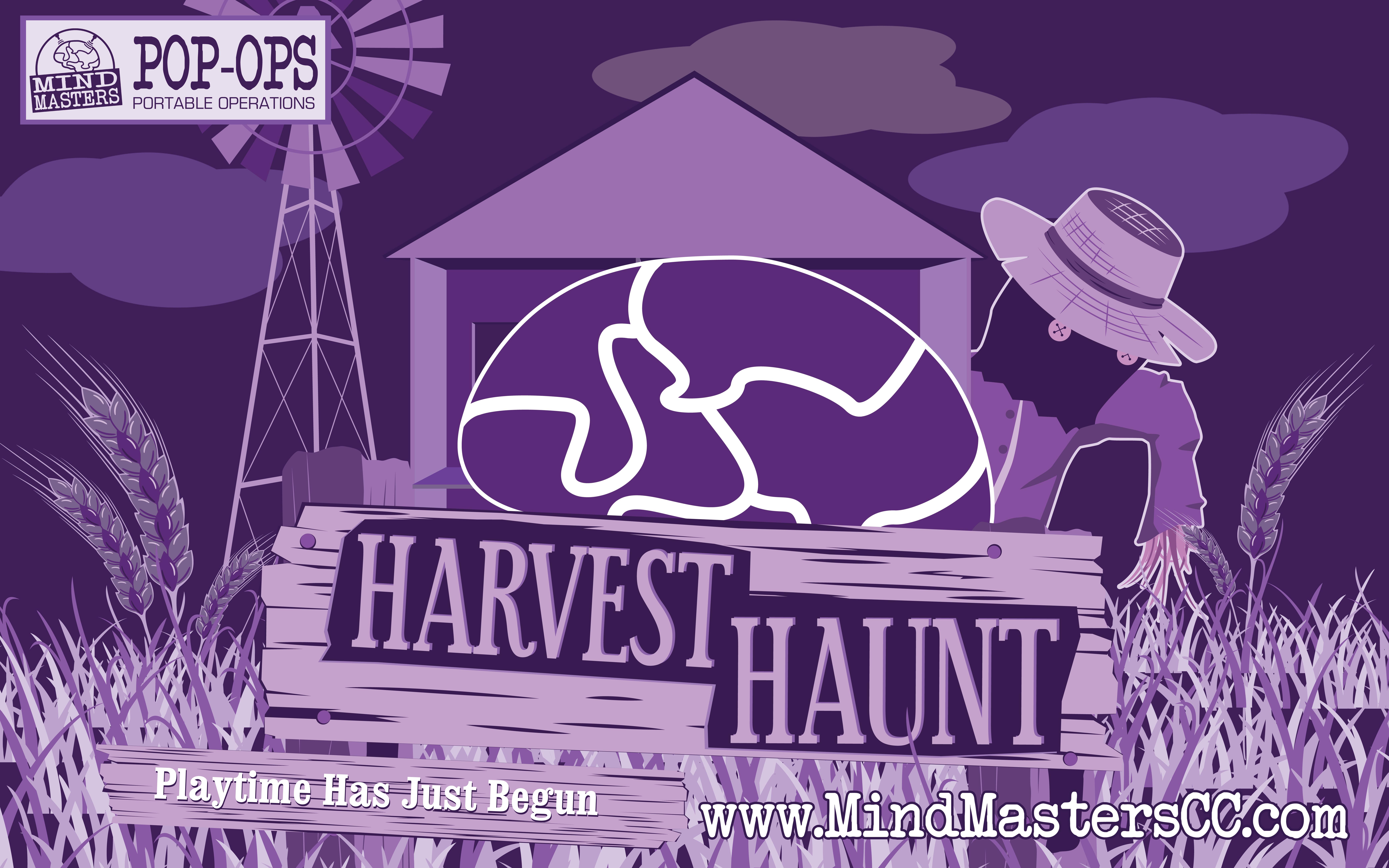 Harvest Haunt Spoopy Halloween Harvest Mind Masters POP-OPS Haunt